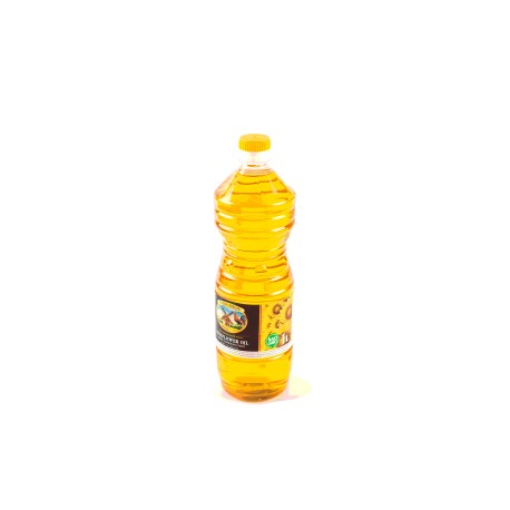 Frozen unrefined sunflower oil 1 litre