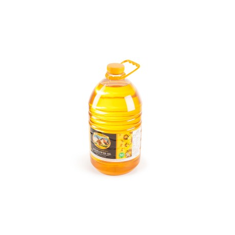 Frozen unrefined sunflower oil 5 litres
