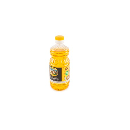 Unrefined hot pressed sunflower oil 500ml