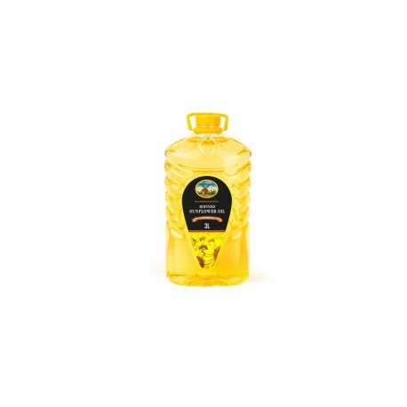 Sunflower oil 3 liters