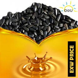 Unrefined sunflower oil 1MT